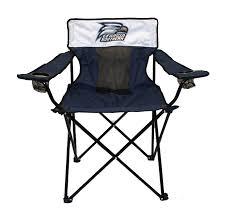 navy elite folding chair w athletic logo