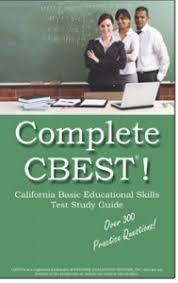 california basic educational skills test cbest cover