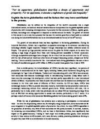 essays religion and globalization solid essay