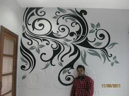 Small Picture first time wall designing in pakistan Karachi