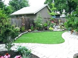 small front yard landscaping ideas florida for a ranch home no grass backyard decoratin