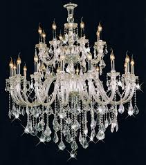 picture gallery of the unequalled crystal chandeliers for extravagant residence enhancement