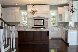 kitchens with white cabinets and dark floors. White Kitchen Brown Island Dark Floors Paint Like Images Of Cabinets With Kitchens And D