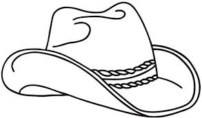 Cowboy Hat Hot By An Arrow Coloring Pages Kids Play Color