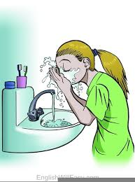 washing face clipart. Perfect Face Download This Image As And Washing Face Clipart C