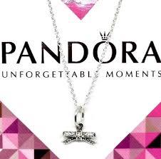 details about new pandora delicate bow pendant necklace 45cm