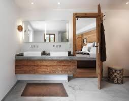 Badezimmer Modern Mit Holz Dekoideen Bad Selber Machen Bathroom