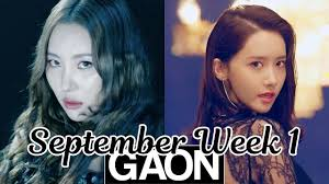 Top 100 Gaon Kpop Chart 2018 September Week 1 Weekly