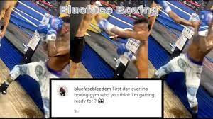 Blueface Training For Boxing Fight ...