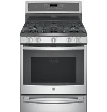 Dual Fuel Gas Electric Range Features From GE Appliances