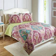 Better Homes and Gardens Jeweled Damask Bedding Quilt Collection ... & Better Homes and Gardens Jeweled Damask Bedding Quilt Collection -  Walmart.com Adamdwight.com
