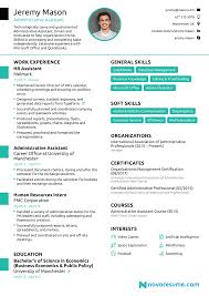 Cv Examples Administration Business Administration Cv Sample Manager Examples Uk Curriculum