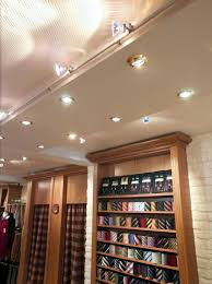 closet lighting fixtures. Captivating Closet With Built In Lamps Also Track Lighting Fixtures Stainless Steel Pipe
