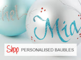 Personalised Christmas Decorations U0026 Baubles  The Christmas CartPersonalised Christmas Gifts Australia