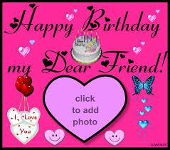 imikimi zo birthday frames 2008 happy bday my dear friend