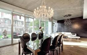recommended size chandelier dining room for height