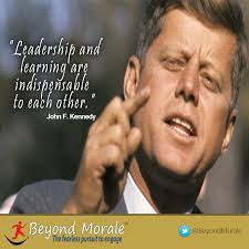 Servant Leadership Quotes Beauteous Image John F Kennedy Leadership And Learning Quote Customer