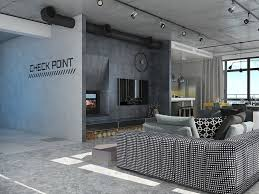 Home Designs: Industrial Masculine Loft - Loft Interior