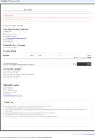 Example Of A Receipt Click Pledge RealTime Receipt 4