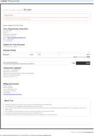 Example Of A Receipt Click Pledge RealTime Receipt 4