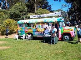 Hippie Buses 1960s Hippies Bus Made From Old School Bus Oldies But Goodies