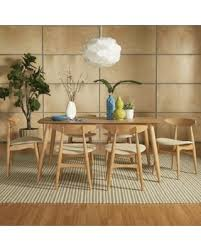 danish modern dining room chairs. Simple Dining Norwegian Danish Modern Oak Brown Tapered Dining Set By INSPIRE Q   Throughout Room Chairs