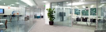 office mezzanine floor. polar vision office partitioning with full height halo door frame mezzanine floor