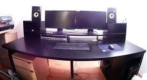 studio desk ikea studio desk new studio table design my recording regarding producer desk