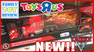 disney cars 3 toys mack lightning mcqueen buddy pack remote control thinkway toys r us exclusive