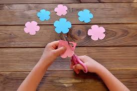 Easy Paper Flower How To Make Paper Flowers For Kids