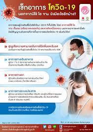 👉🏻เช็กอาการ โควิด-19 😷🤒... - โรงพยาบาลจุฬาลงกรณ์ สภากาชาดไทย