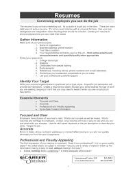 9 Resume Objective Summary Men Weight Chart Resume For Study