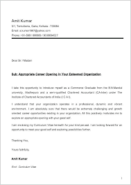 Chartered Accountant Cover Letter Sample Accounting Cover Letter For