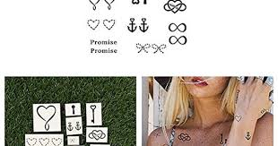 Tattify Best Friend Temporary Tattoos Soul Sister Complete Set of 22 ...