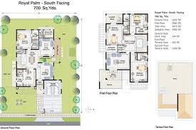 beautiful south facing home plan 2 bedroom house plans ideas