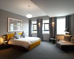 carpet floor bedroom. Carpeted Bedroom Inspiration For A Mid Sized Contemporary Master And Gray Floor Remodel In Carpet