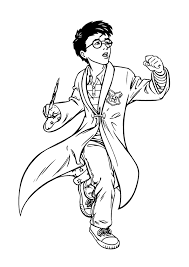 Harry Potter Coloring Pages Dobby In Harry
