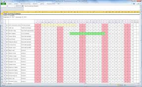 Attendence Tracker Employee Attendance Tracker Excel Template Google Search