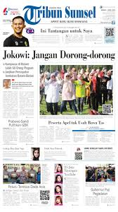 Tribun Sumsel Newspaper 07 April 2019 Gramedia Digital