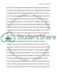 social commentary criticism in pride prejudice essay text
