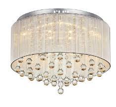 new diy luxury modern cristal pendants led crystal chandelier flush mount lighting for foyer