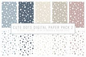 Dot Patterns Enchanting Cute Dot Patterns Digital Paper Vector By By Lef TheHungryJPEG