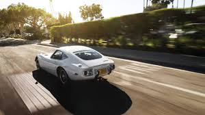 Why the Toyota 2000GT Matters - The Drive