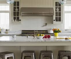 ... Kitchen With Faux Bamboo Counter Stools From Ballard Designs Regarding Ballard  Designs Kitchen Island