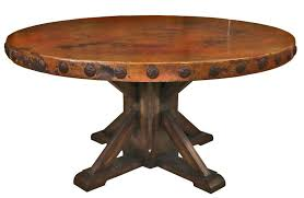 round wood table top copper top room dining table rustic wood base adornment 1 round wooden round wood table top