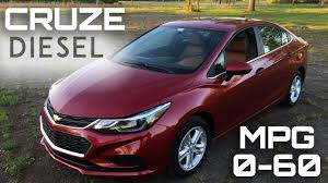 2017 Chevrolet Cruze Diesel Manual 0-60 MPH Review - Highway MPG ...