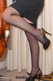A mature secretary undressing from Trissha