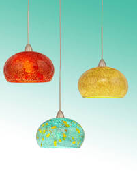 art glass pendant light shades and blown glass pendant lighting for kitchen island for the
