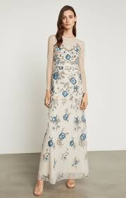 Image result for CREAM DRESS WITH GOLD AND BLUE EMBROIDERY