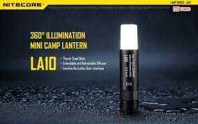 Nitecore La10 135 Lumen 1 X Aa Led Camping Light